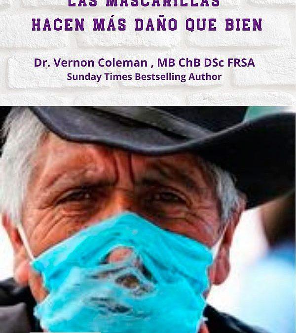 La máscara/bozal enferma