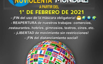 Plan Desobediencia Civil Noviolenta 1 Febrero 2021