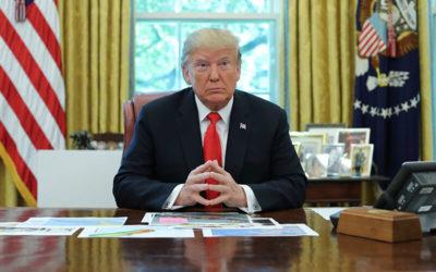 Mensaje de paz de Donald J. Trump
