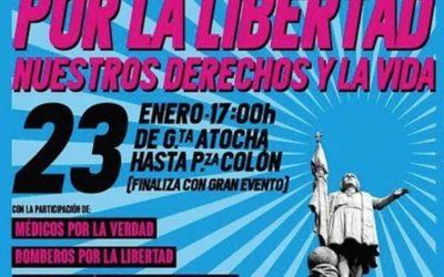 Madrid, 23E: Marcha por la Libertad y la Vida