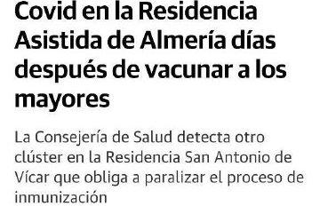 Genocidio de ancianos en las residencias