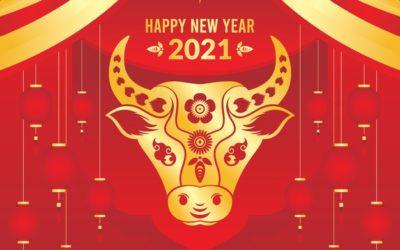 El año del buey de oro:2021